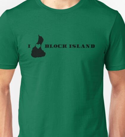 I Heart Block Island Unisex T-Shirt