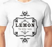 vintage style lemon  bitter taste weed  Unisex T-Shirt
