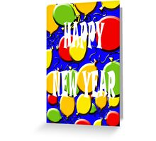 HAPPY NEW YEAR 14 Greeting Card