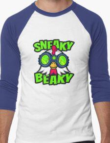 Sneaky Beaky Chicken Men's Baseball ¾ T-Shirt