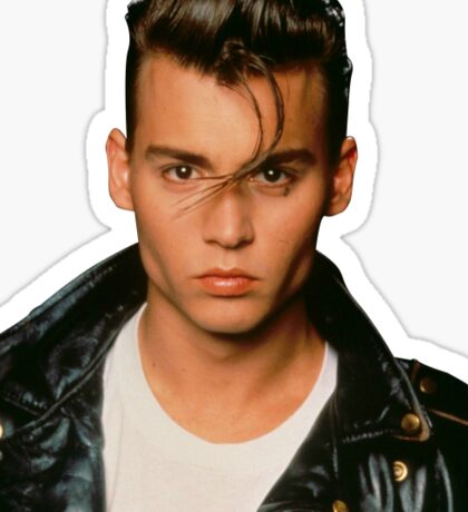 Johnny Depp Sticker