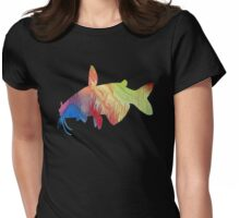 Catfish Womens Fitted T-Shirt