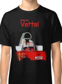 Sebatian Vettel; Ferrari 2016 Classic T-Shirt