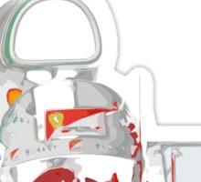 Sebatian Vettel; Ferrari 2016 Sticker