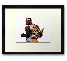 Lebron James Framed Print
