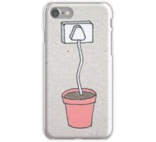 Plant Plug iPhone Case/Skin