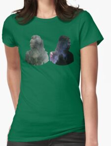 Clexa - The 100 Womens Fitted T-Shirt
