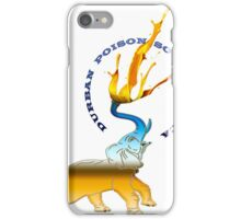 Elephant Durban Poison South africa  iPhone Case/Skin