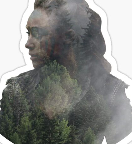 Lexa - The 100 Sticker