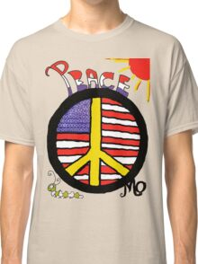 Peace Flag USA Classic T-Shirt