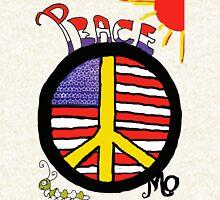 Peace Flag USA Hoodie