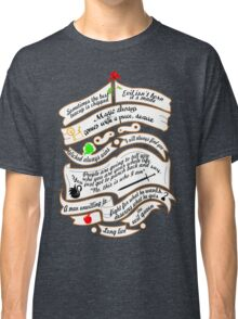OUAT quotes. Classic T-Shirt