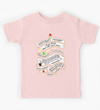 OUAT quotes. Kids Tee