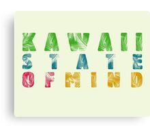 Kawaii - state of mind Canvas Print