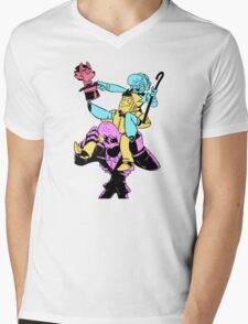 Tower of Trouble Mens V-Neck T-Shirt