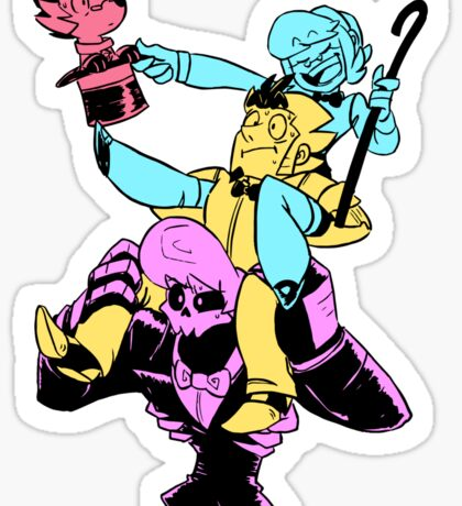 Tower of Trouble Sticker