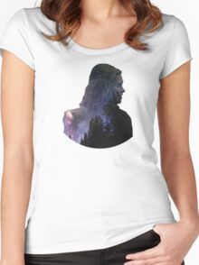 Clarke - The 100 Women's Fitted Scoop T-Shirt