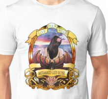 Mermaid Lily-Rose logo crest Unisex T-Shirt