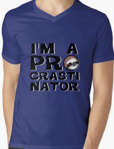 Procrastinator Mens V-Neck T-Shirt