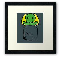 Cute Cthulhu Framed Print