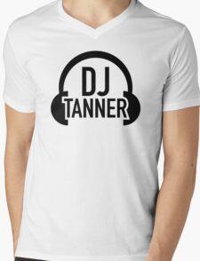 DJ Tanner Mens V-Neck T-Shirt
