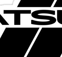 Datsun Stripes Sticker