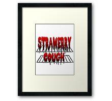 Strawerry cough taste  og weed Framed Print
