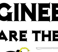 Electrical Engineers Are The Bomb! Sticker