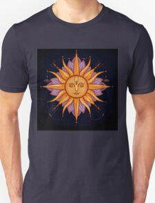 Sun with face Unisex T-Shirt