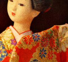 Little Geisha Doll Sticker