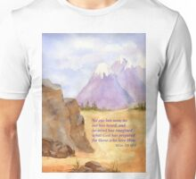 Amazing Hope!  1 Cor. 2:9 Unisex T-Shirt