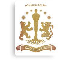 House Leo - Oscar is Ours Canvas Print