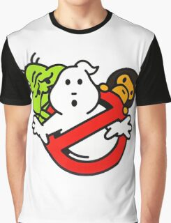 Bape Milo A Beating Ape X Ghostbuster Graphic T-Shirt