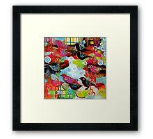 small song birds Framed Print