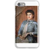 George Frank Miles - Lillie Langtry  iPhone Case/Skin