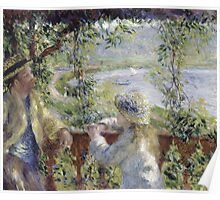 Renoir Auguste - By The Water Poster