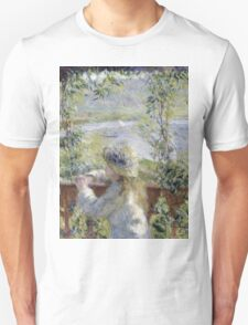 Renoir Auguste - By The Water Unisex T-Shirt