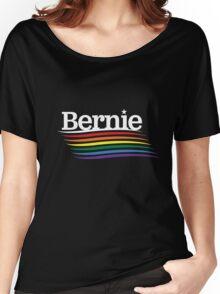 Bernie Pride - Rainbow Flag  Women's Relaxed Fit T-Shirt