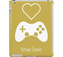 Video Gamer - True Love iPad Case/Skin