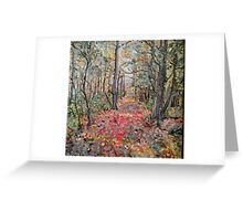 Trail Along The East Line Greeting Card