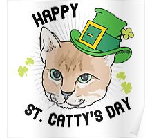 Happy St. Catty's day Poster