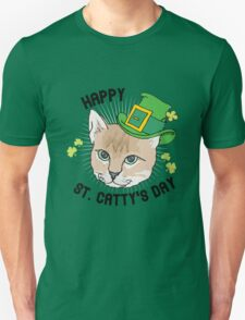 Happy St. Catty's day Unisex T-Shirt