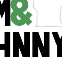 Jack & Jim & Johnny & Jameson Sticker
