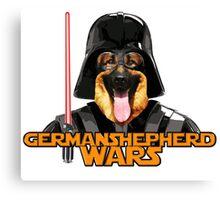 Cute german shepherd star war Canvas Print
