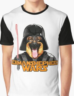 Cute german shepherd star war Graphic T-Shirt