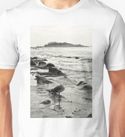 Seagull In Laguna Beach Unisex T-Shirt