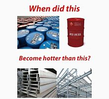 jet fuel cant melt steel beams Unisex T-Shirt