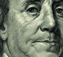 Ben Franklin Hundred Dollar Bill Sticker