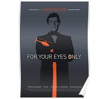 For Your Eyes Only - Movie Poster Poster