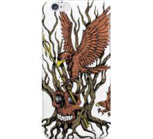 Eagles Skull Tree Spear iPhone Case/Skin